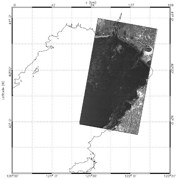 以上是從二零零六年十二月十九日到二零零七年一月四日的5景ENVISAT ASAR圖像,從這些時間序列圖像可以看到海冰的動態變化過程,其中十二月二十五日的海冰面積大幅縮小,而後持續擴大,這主要是由於二十四至二十五日北方氣溫回升,海冰面積縮小,而二十七日後氣溫下降,海冰範圍持續擴大。