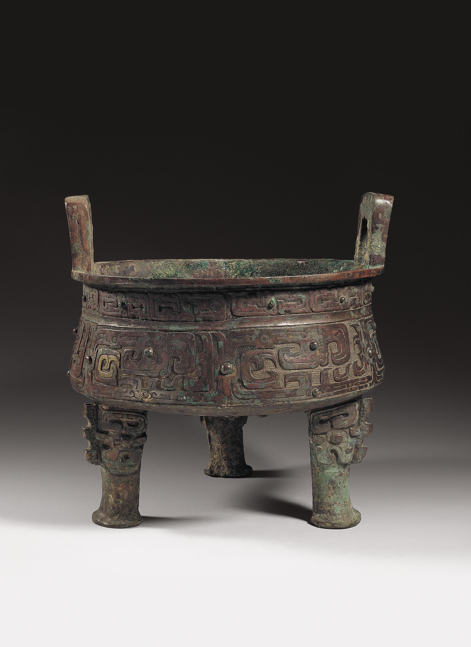 秦公鼎 春秋早期(公元前770年–前7世纪上半叶)