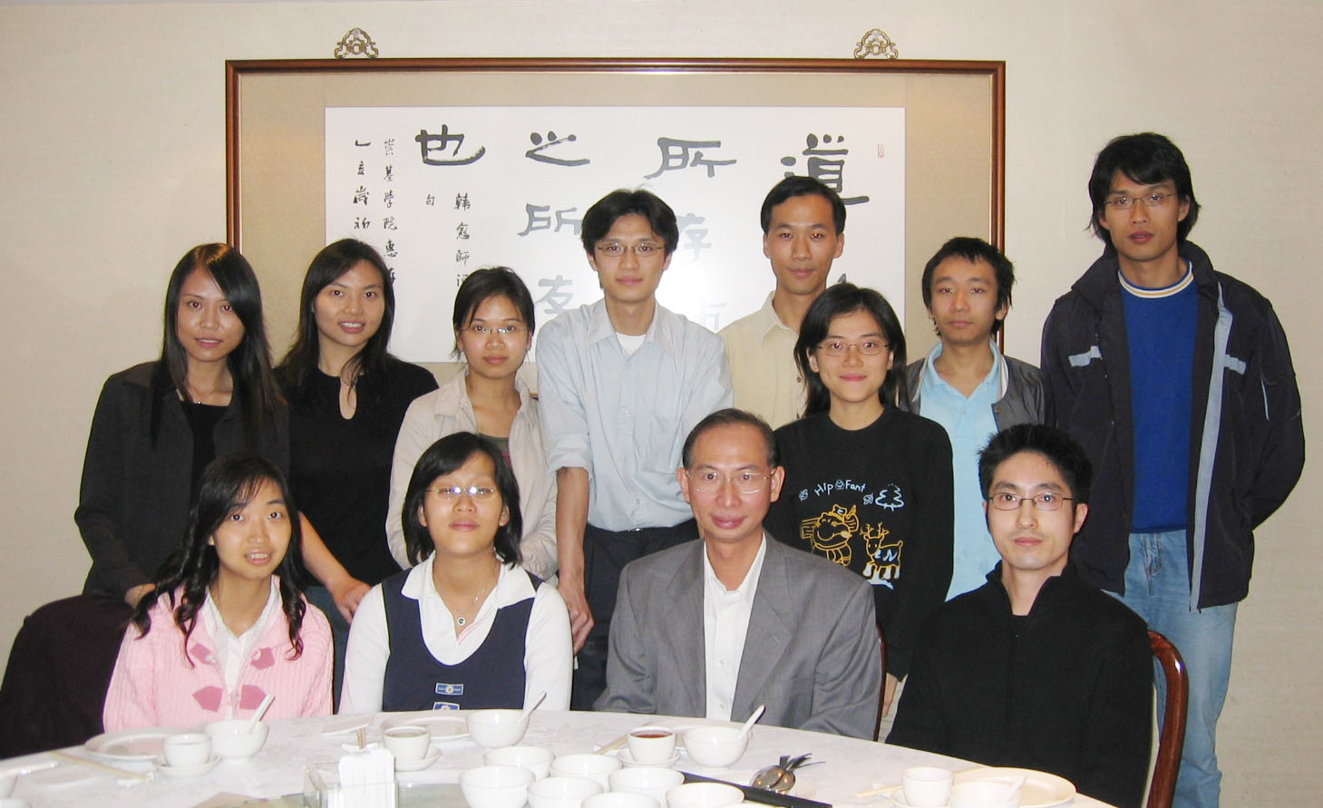 Prof. Leung Kwok-nam (2nd right, front row)