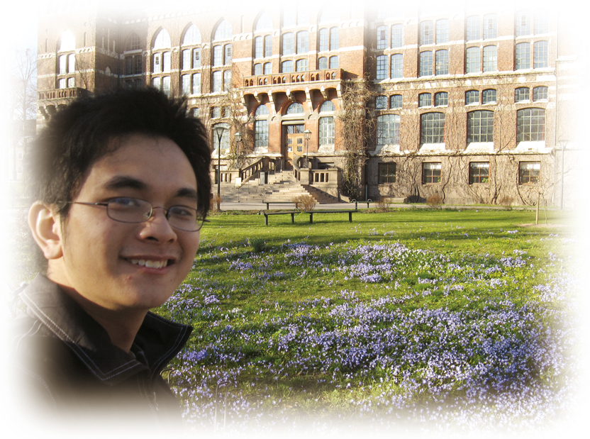 到瑞典交流的歷史系學生林凱謙