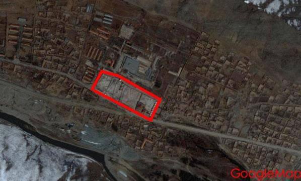 藏傳佛教寺—震前(GoogleMap參考圖)