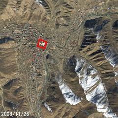 結古廣場(衛星SPOT影像)