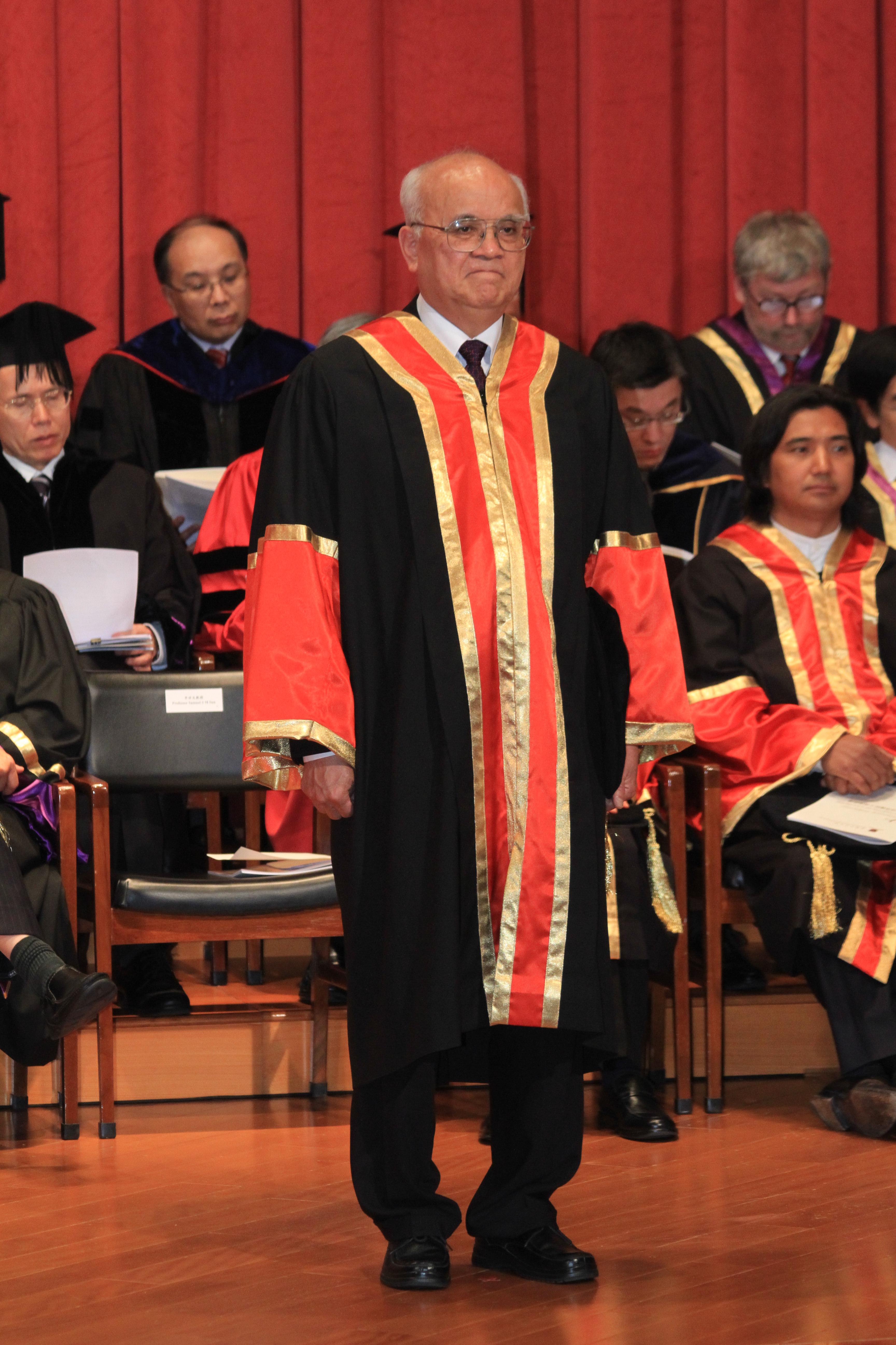 Professor Sun Sai-ming Samuel