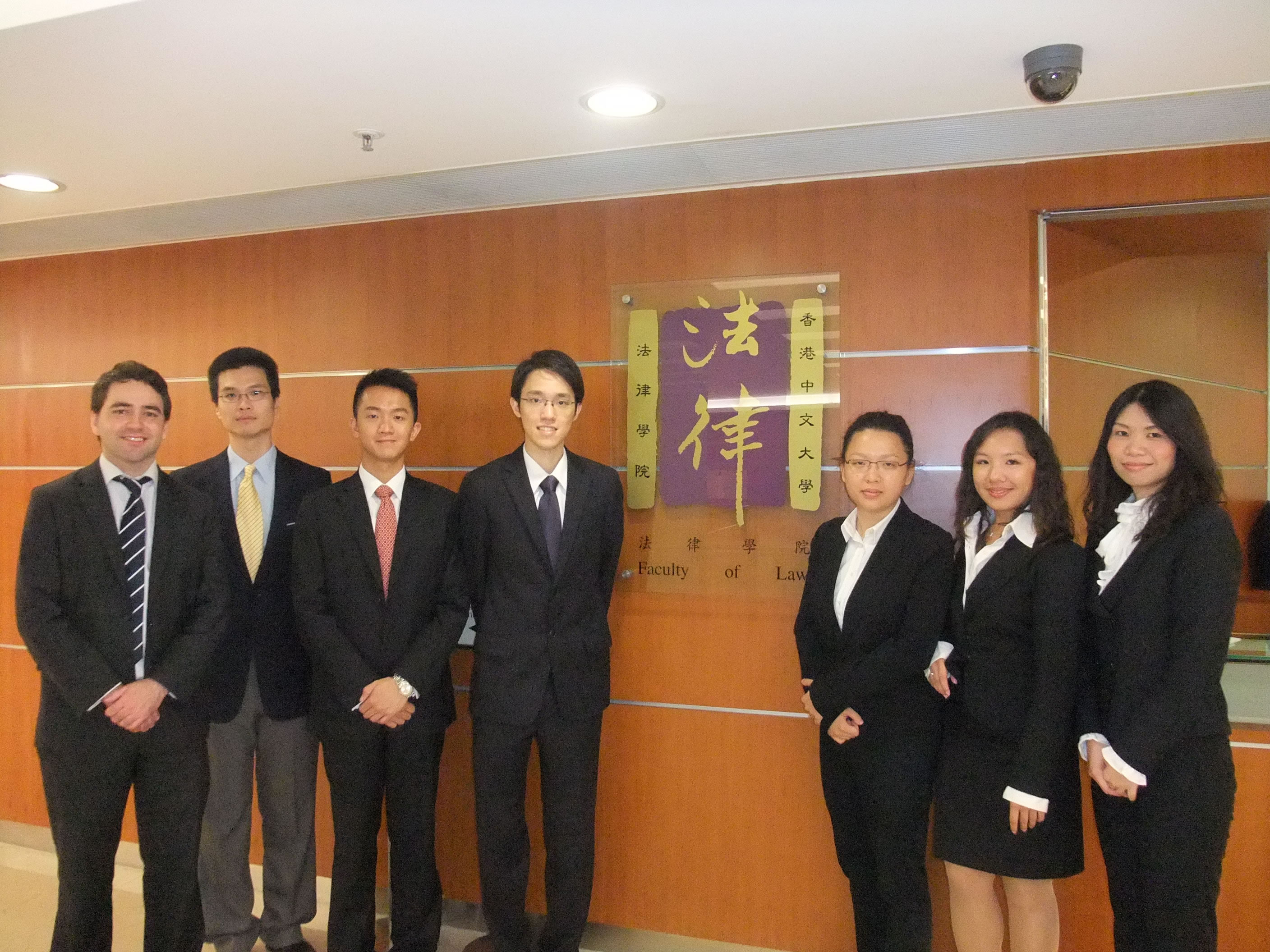 The CUHK team represented Hong Kong at the Jessup International Law Moot Court Competition held in Washington, D.C.