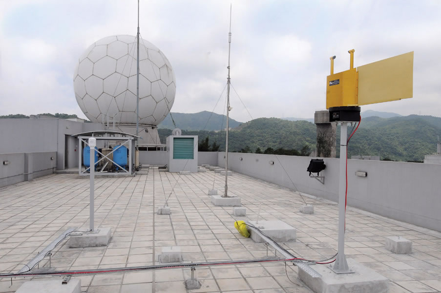 Satellite Remote Sensing Ground Receiving Station and Disdrometer