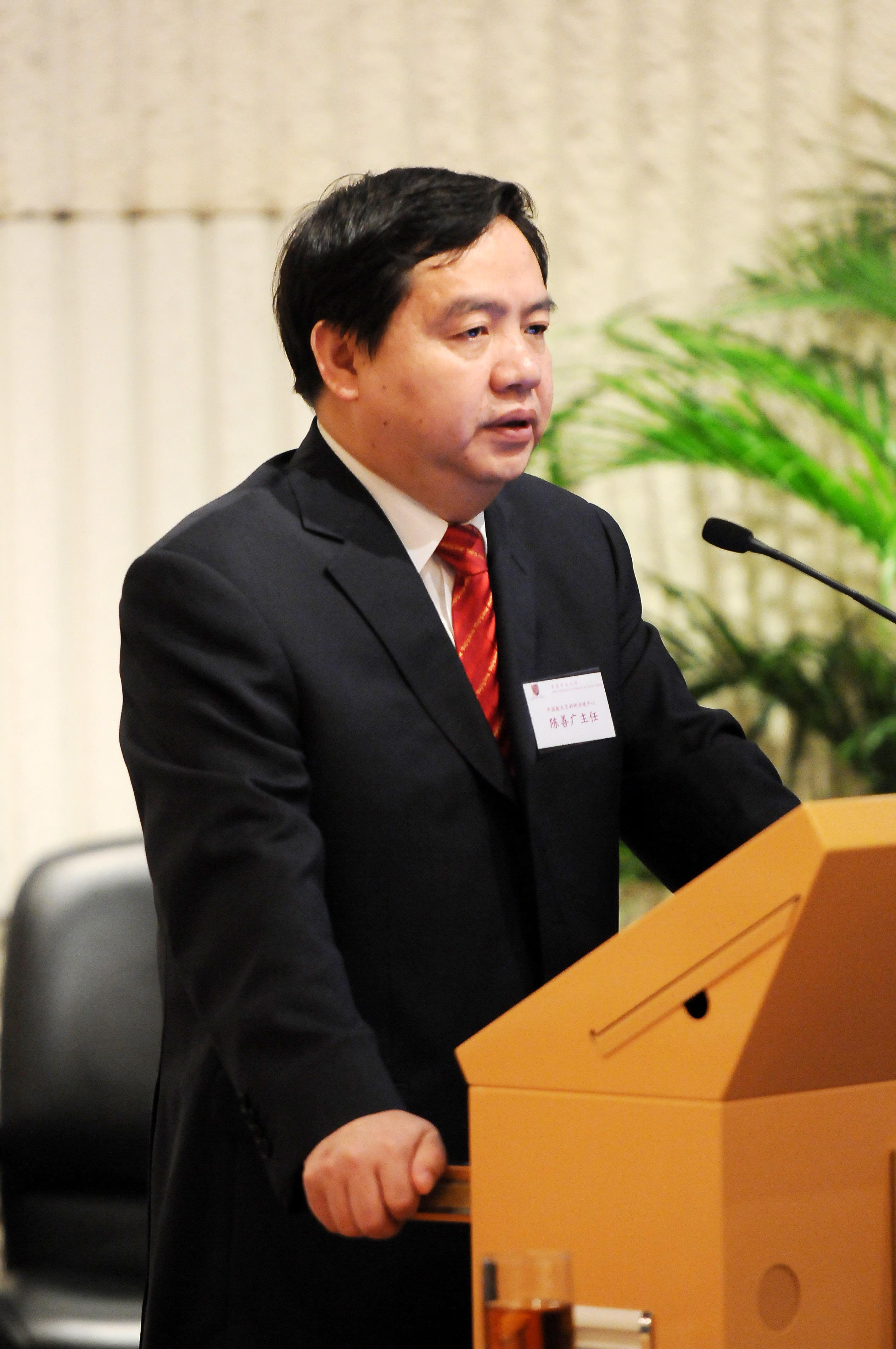 中國航天員科研訓練中心主任陳善廣教授於中大演講
