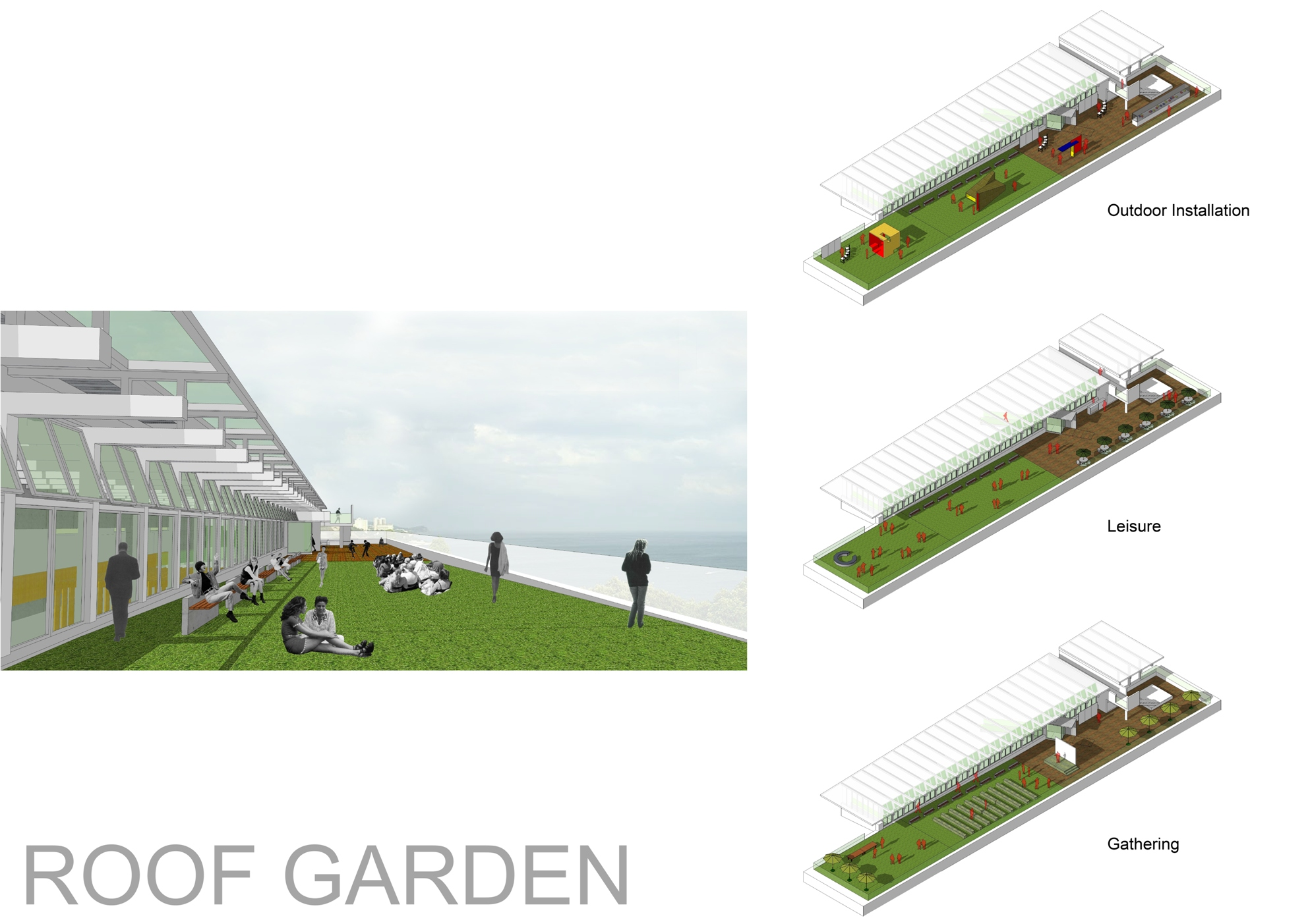 Design of the new purpose-built building of the School of Architecture.