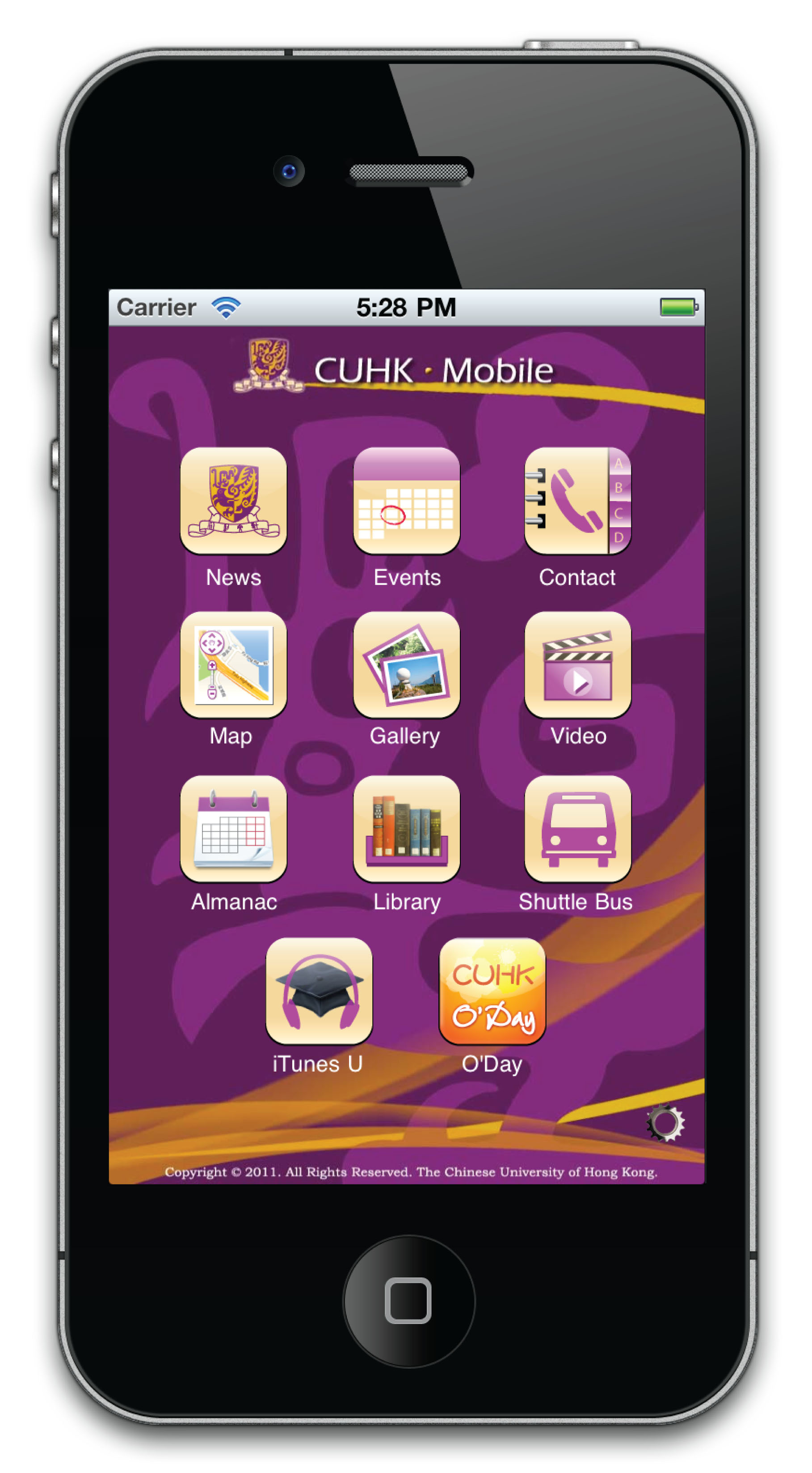 CUHK Mobile app
