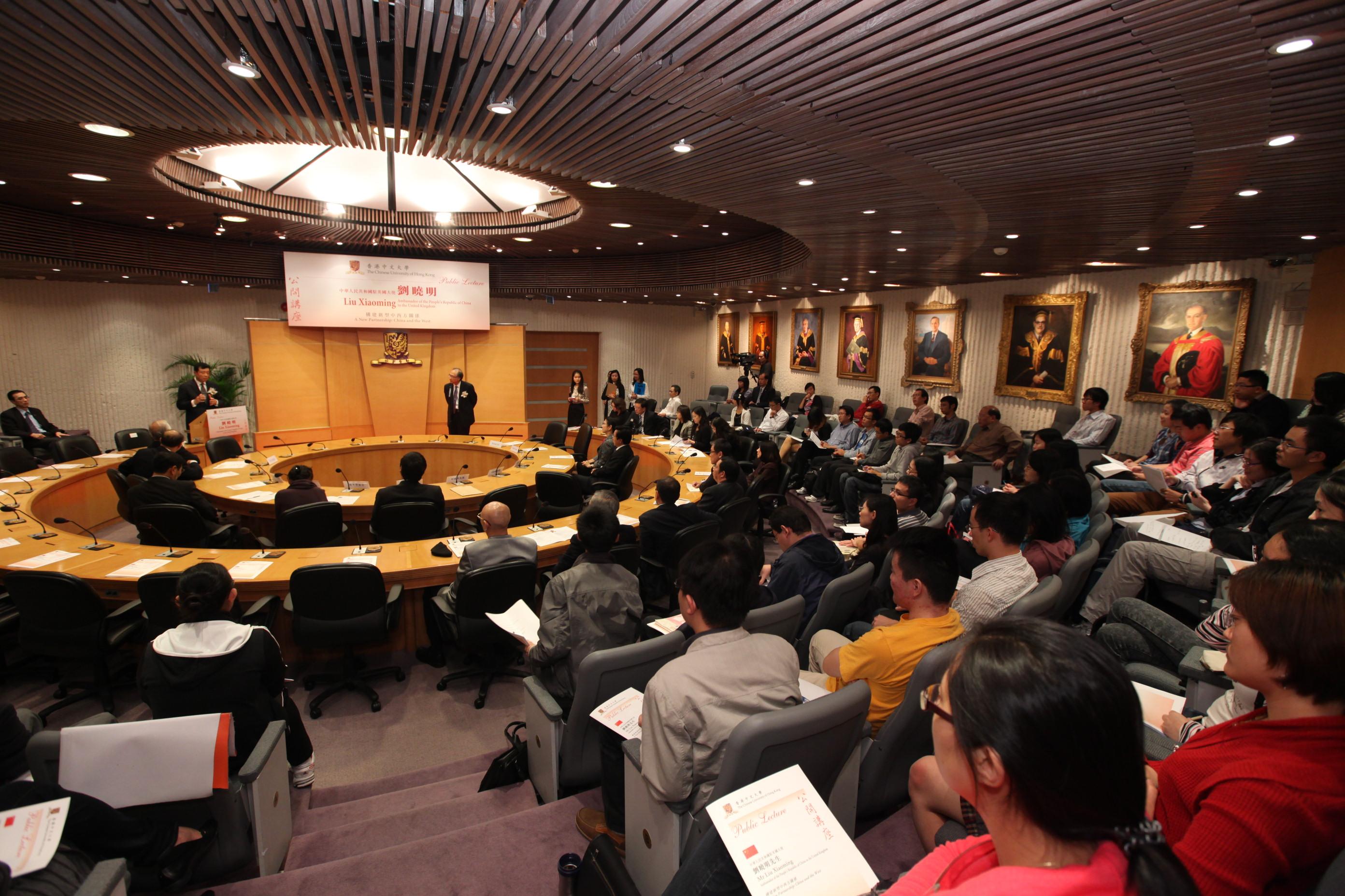 逾百名嘉宾出席讲座