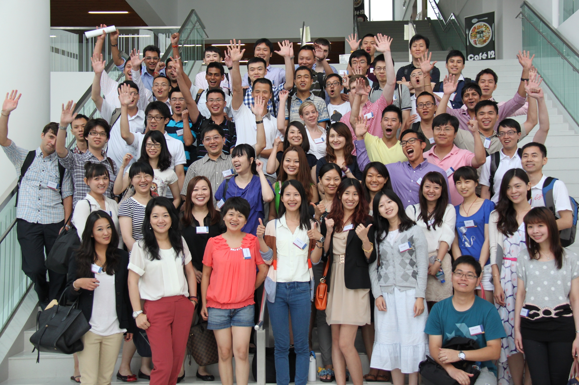 New members of the CUHK MBA Family – CUHK MBA Full-time Class of 2014