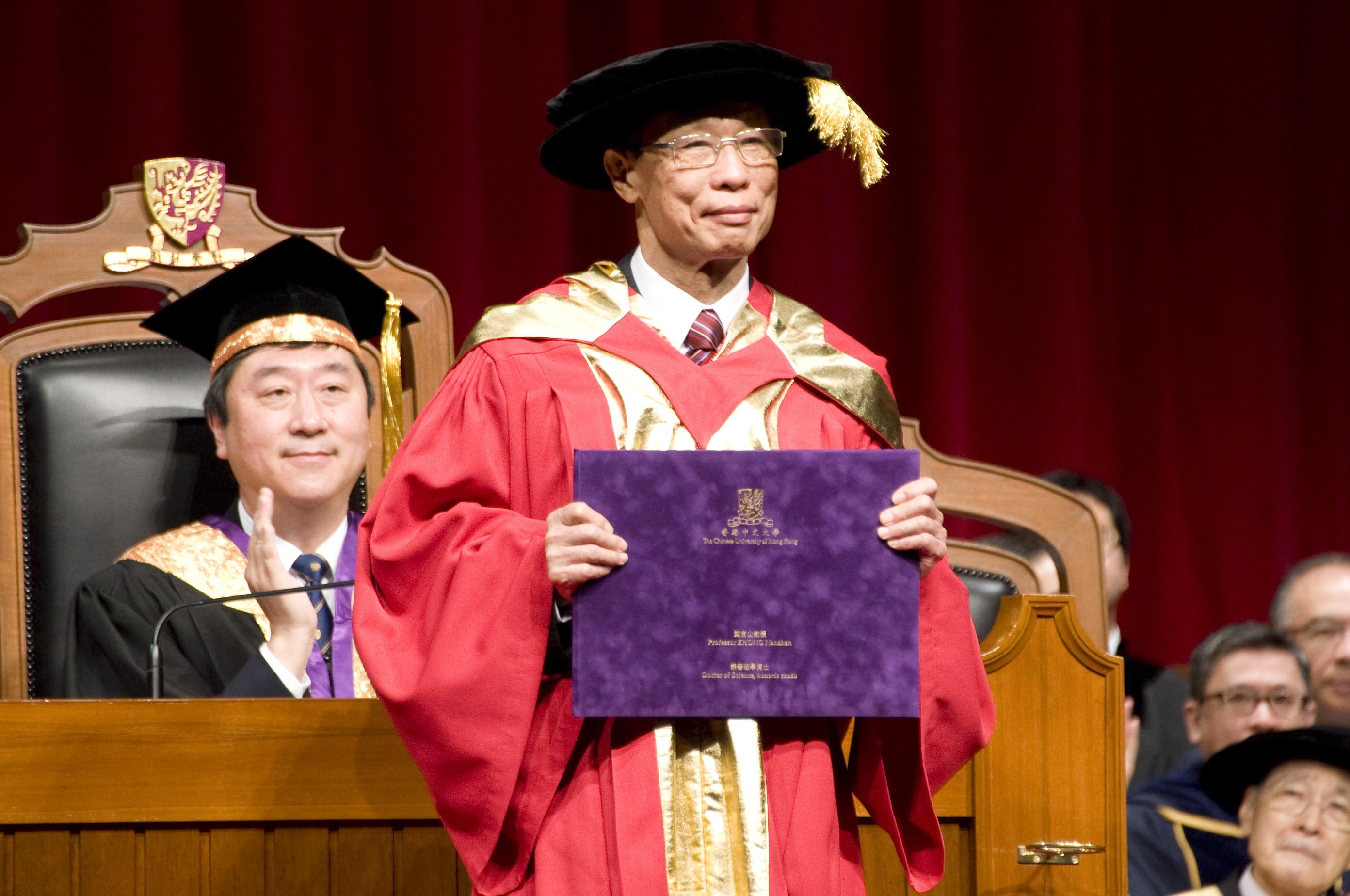 鍾南山教授