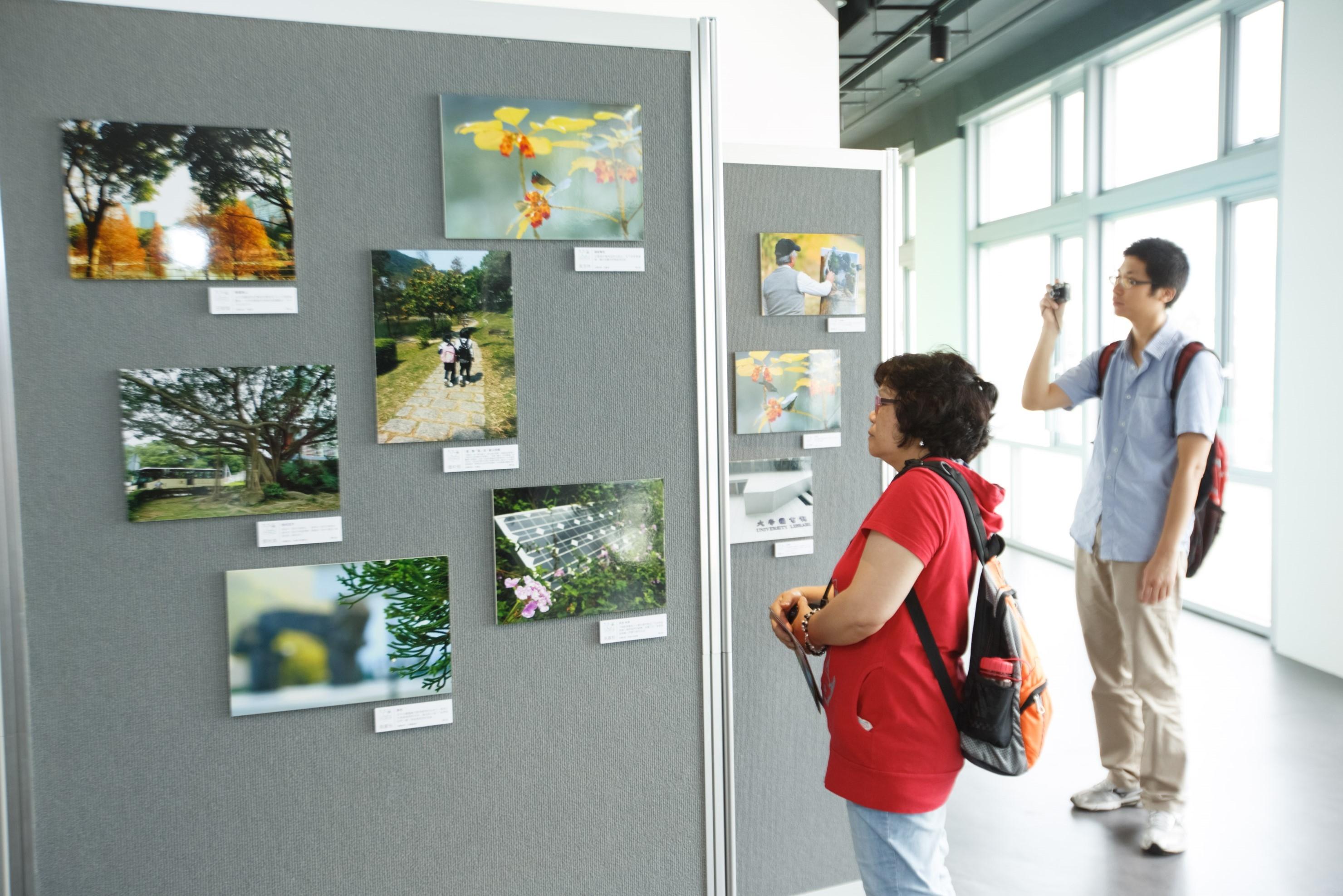 36帧参赛作品于赛马会气候变化博物馆展出。