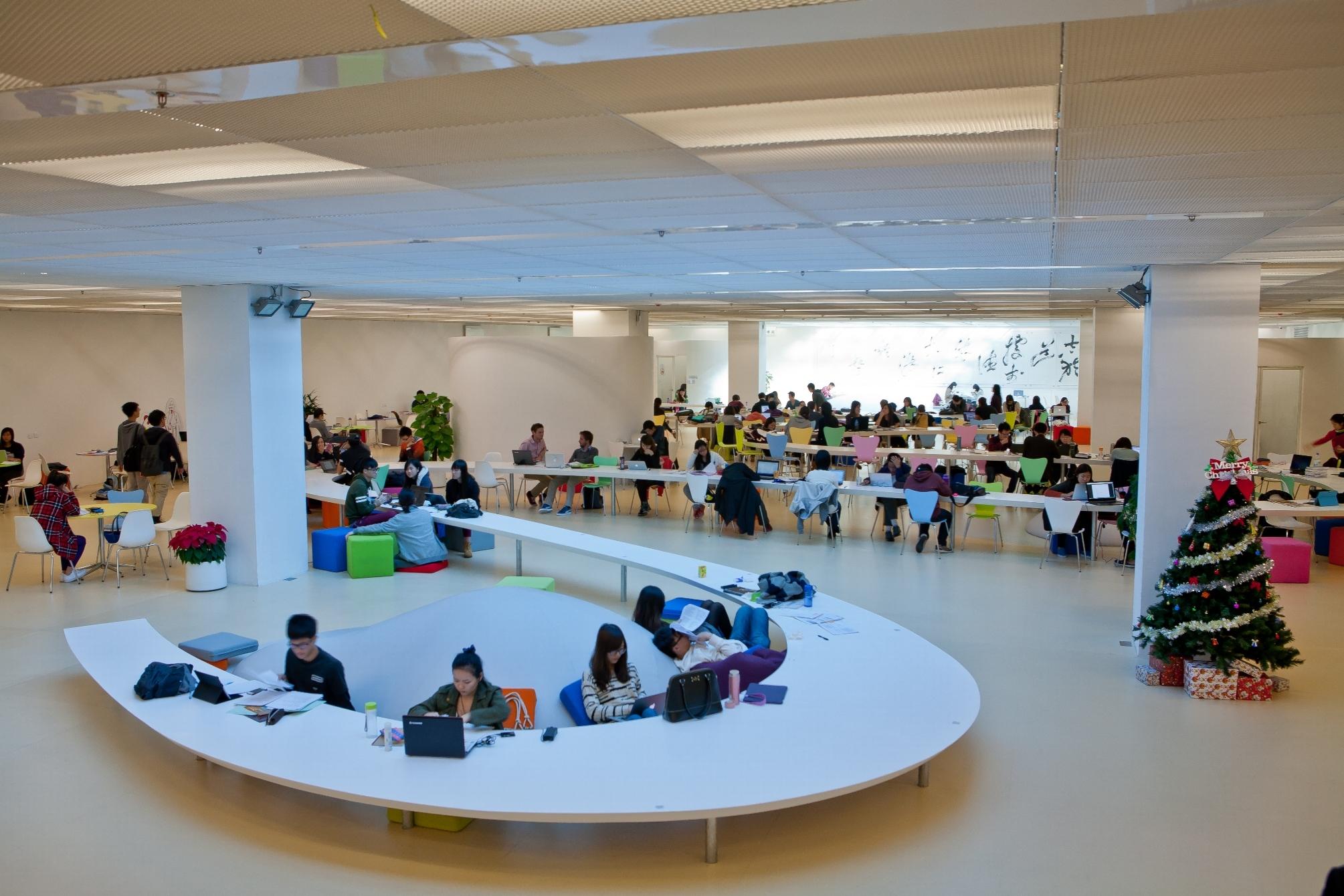 全新打造的地下空間「進學園」