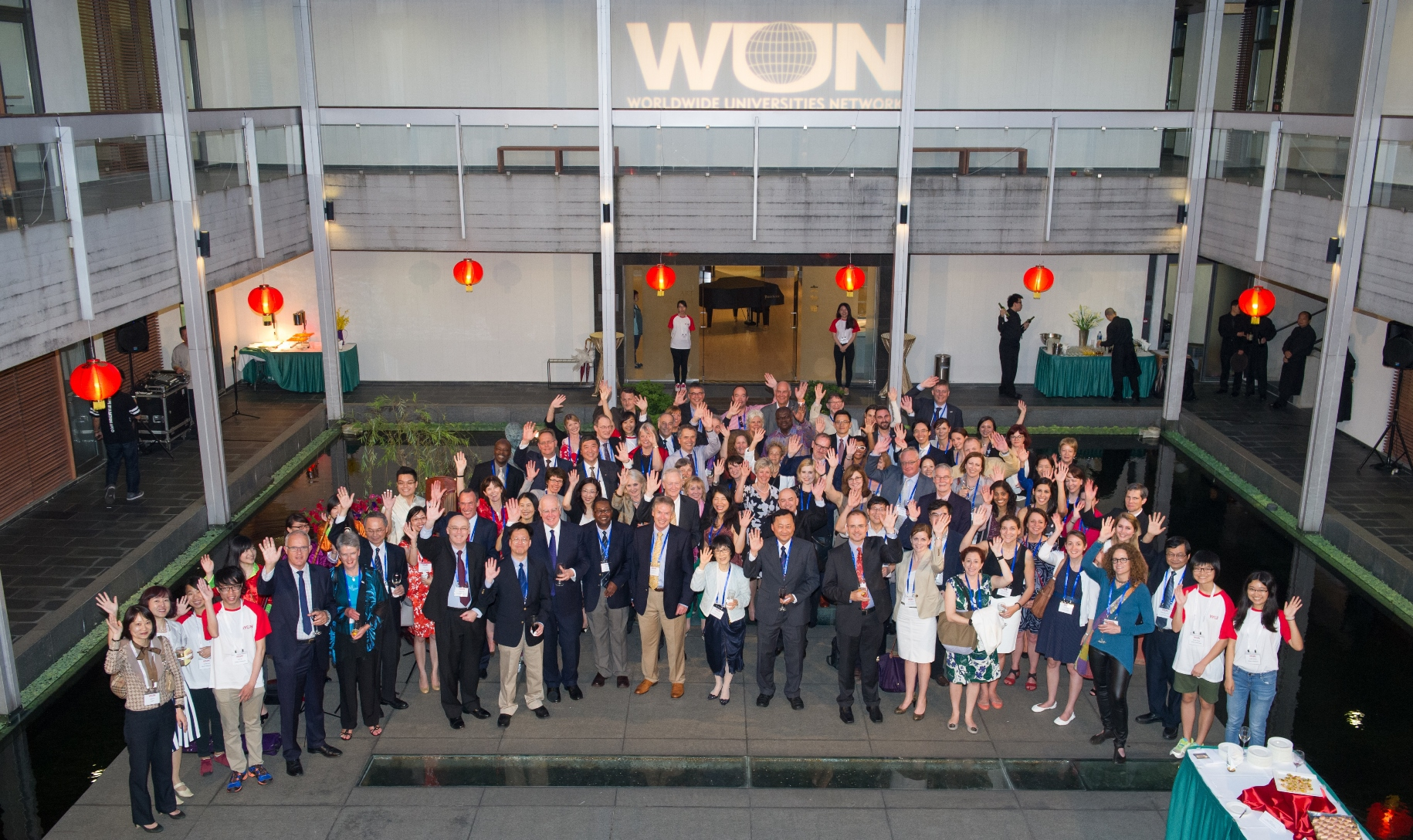 CUHK hosts the welcome reception for the WUN delegation at the Art Museum