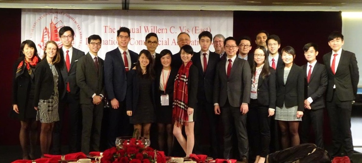 The CUHK team wins the championship of the 13th Willem C. Vis (East) International Commercial Arbitration Moot