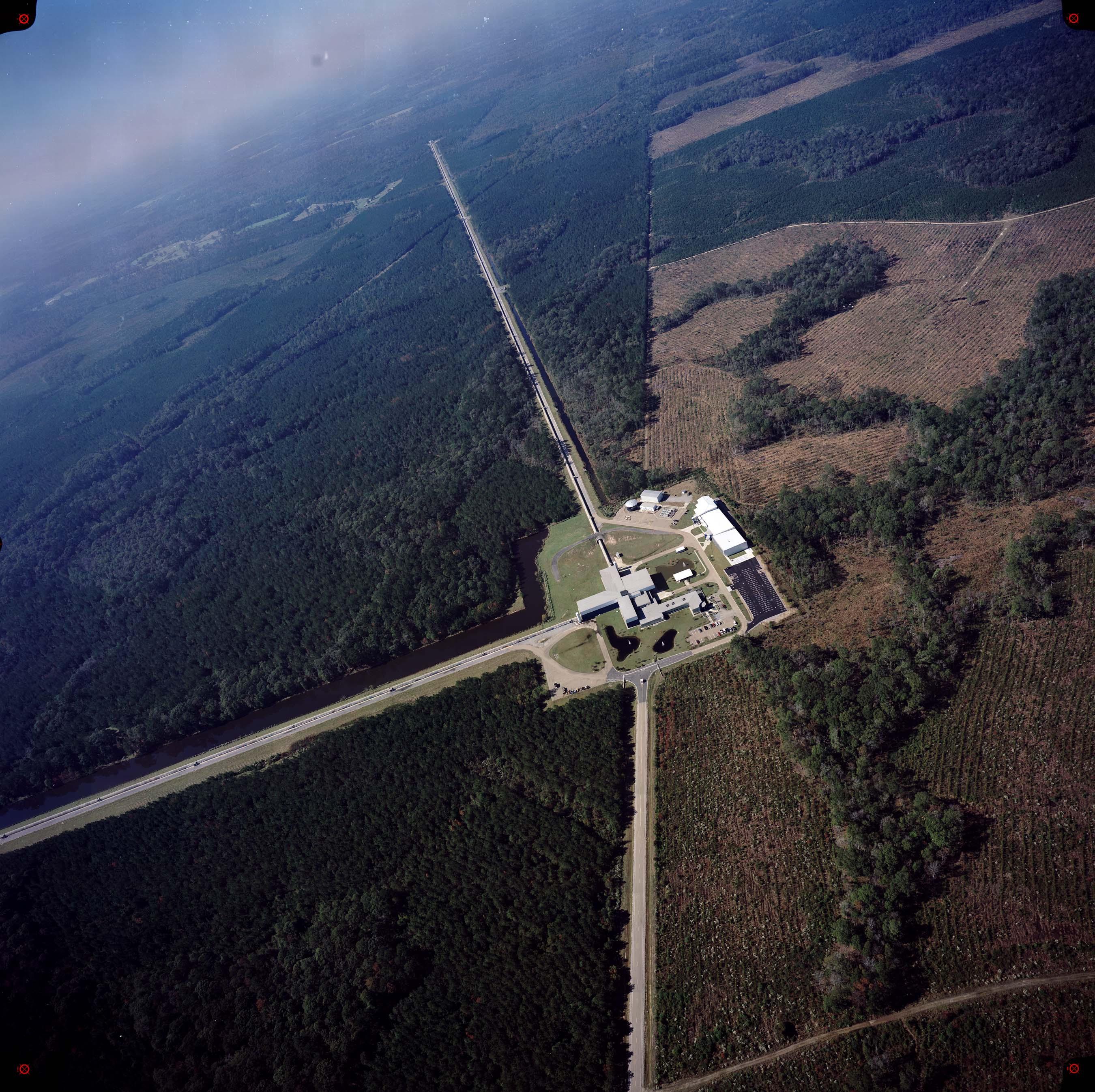 位於路易斯安那州列文斯頓的LIGO探測站。(相片來源: LIGO Laboratory)