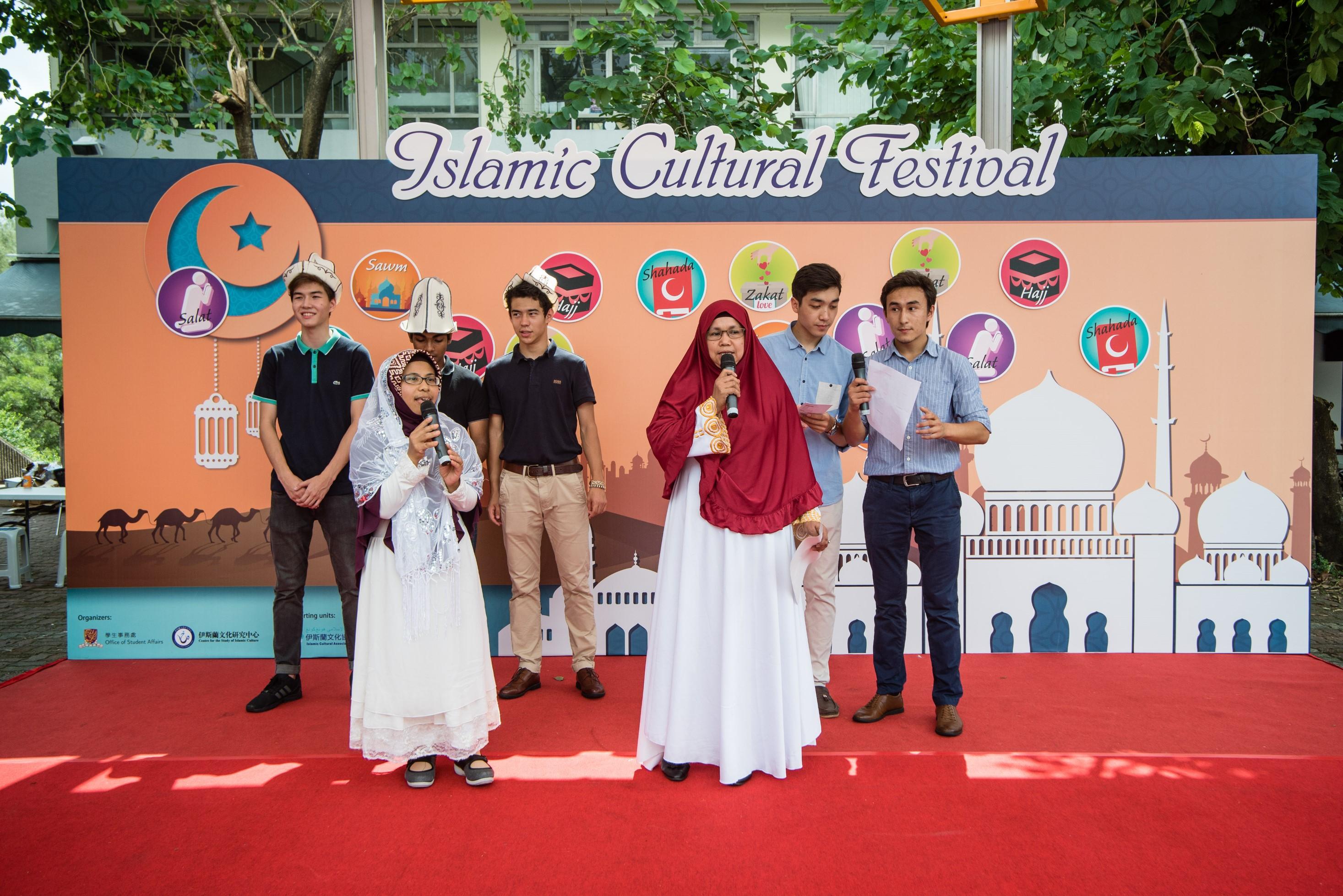 印尼妇女与中大穆斯林学生合唱圣歌