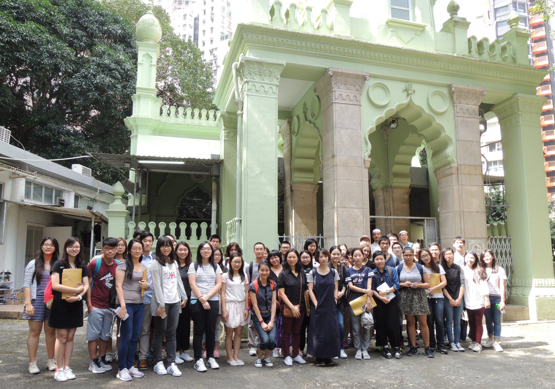 参观清真寺