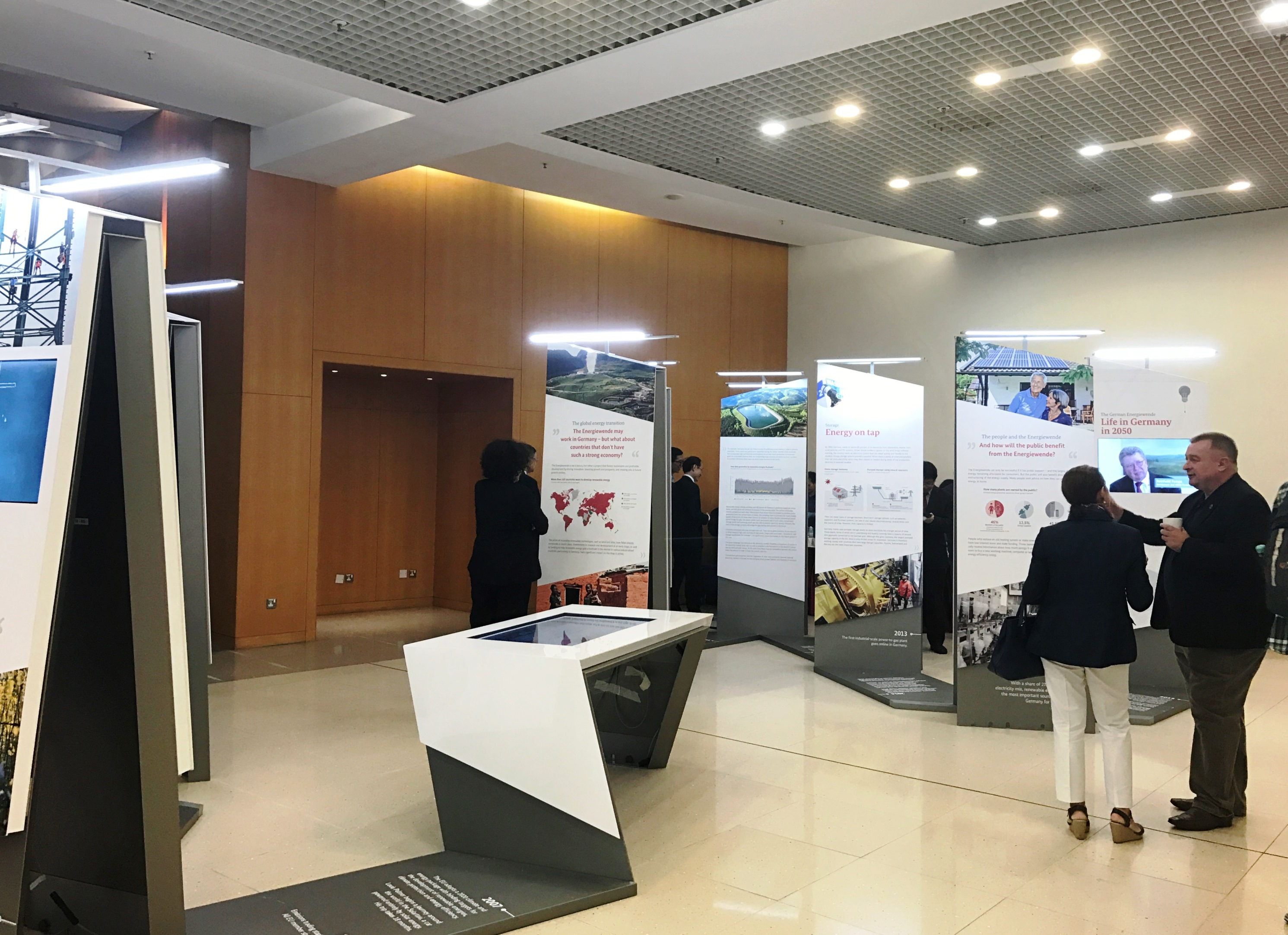 The Exhibition on Germany's Energy Transition.