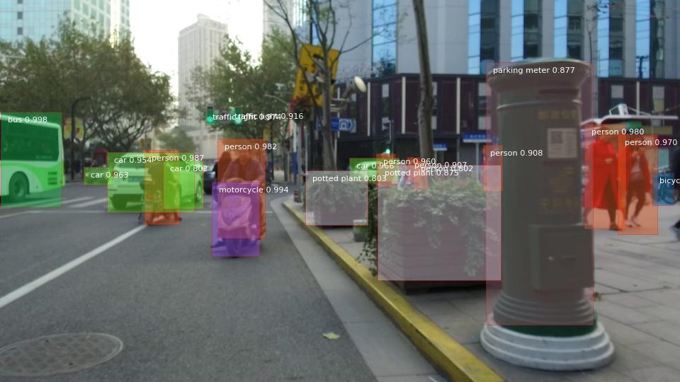 基於深度學習的城市空間物體檢測識別。