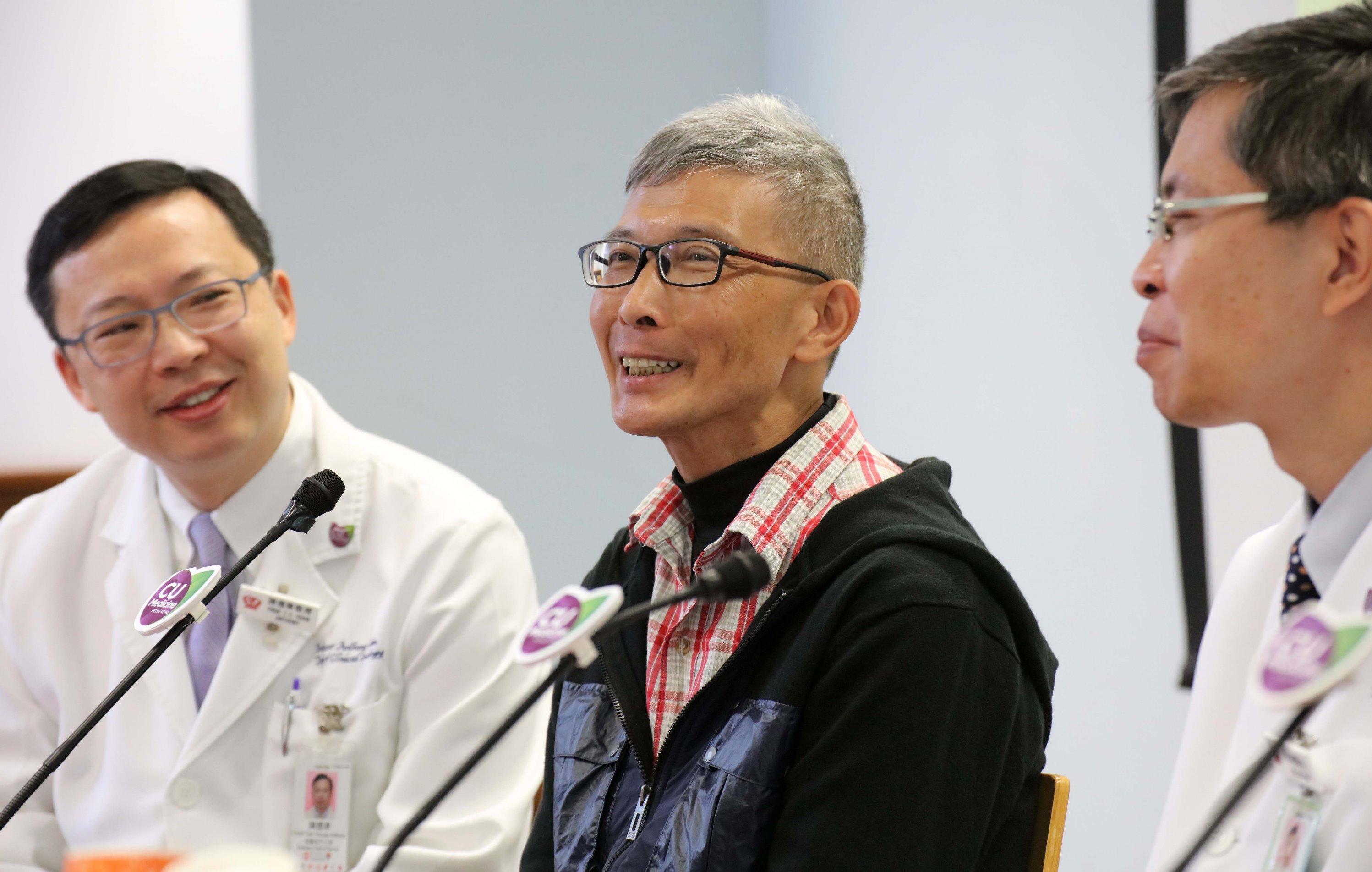 鼻咽癌患者徐先生希望研究团队日后发展出相关技术,帮助患者选择合适的治疗,惠及更多癌症病人。
