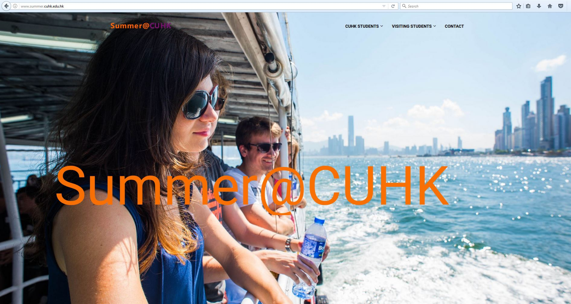 CUHK launches a new online portal and directory, 'Summer@CUHK', which consolidates local, international and mainland summer programmes for both CUHK students and visiting students.