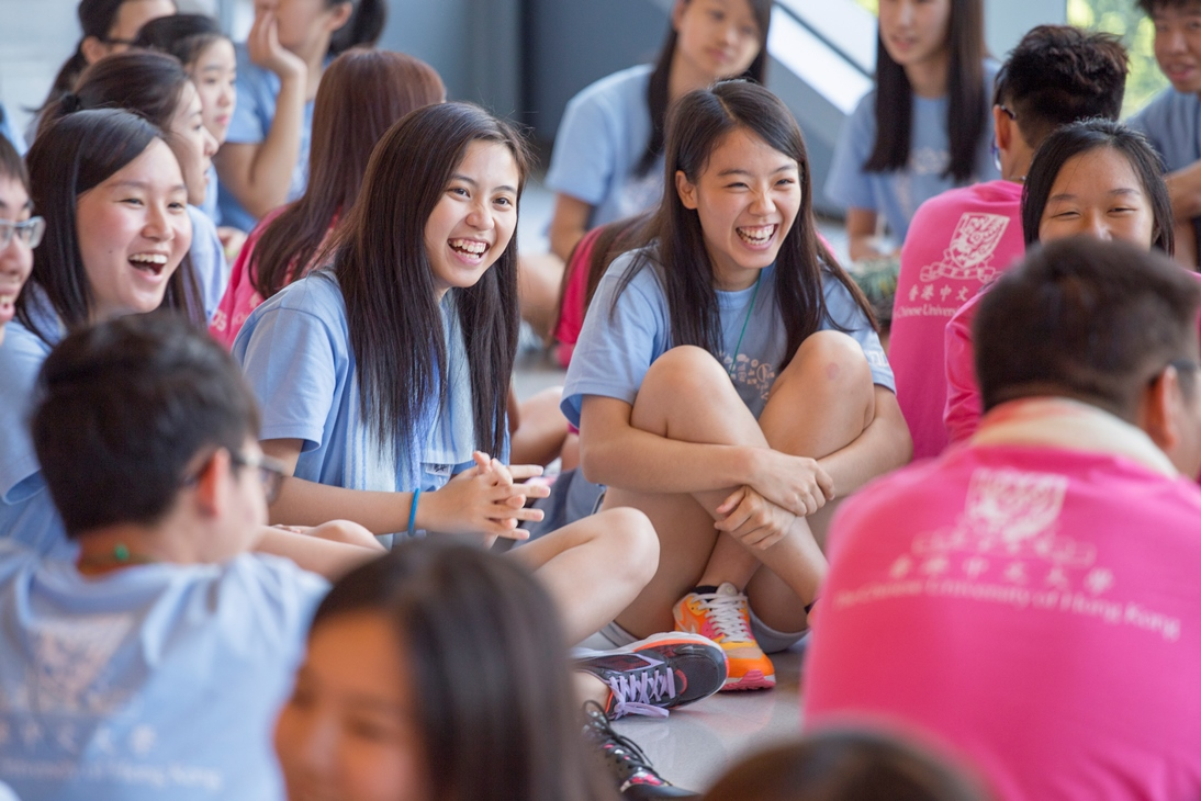 One Day@CUHK for Secondary 5 & 6 students.