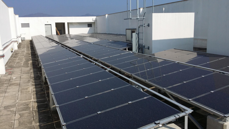 中大會於校園更多樓宇安裝太陽能光伏板發電系統