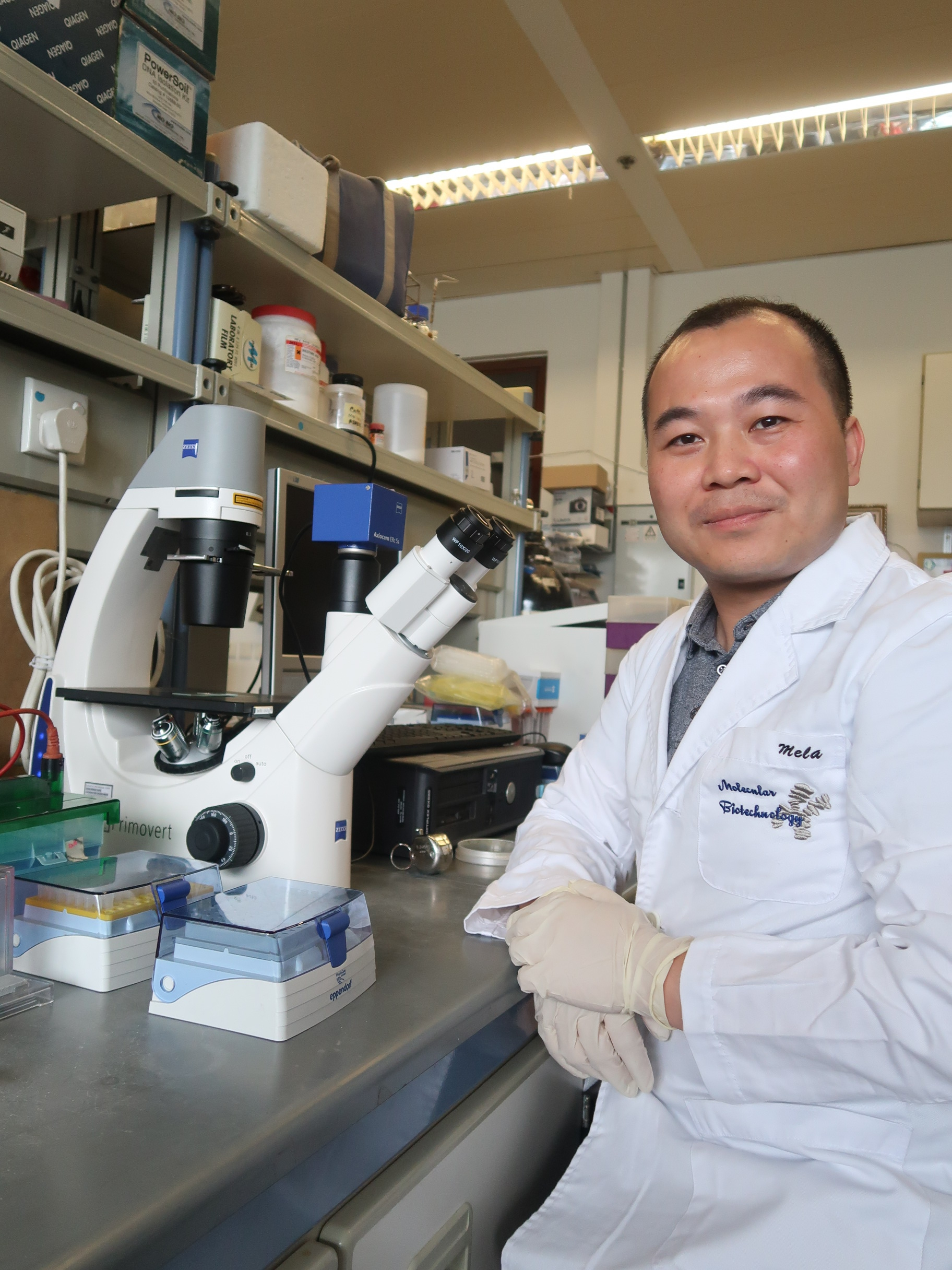 中大生命科學學院助理教授羅海偉教授