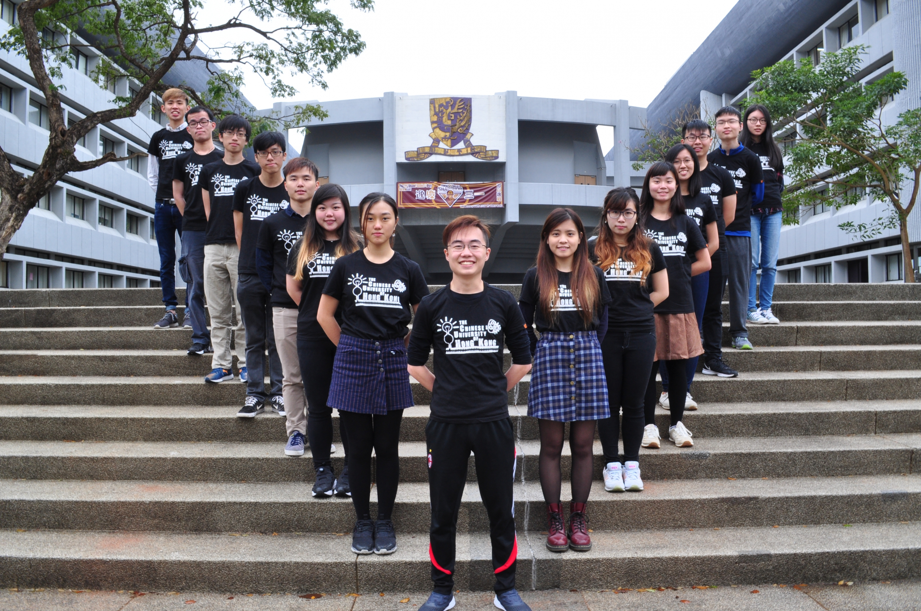 15 undergraduate students of Life Science and Biomedical Engineering join the CUHK genetic engineering team.