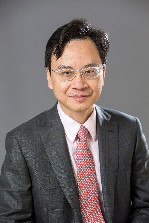盧煜明教授。