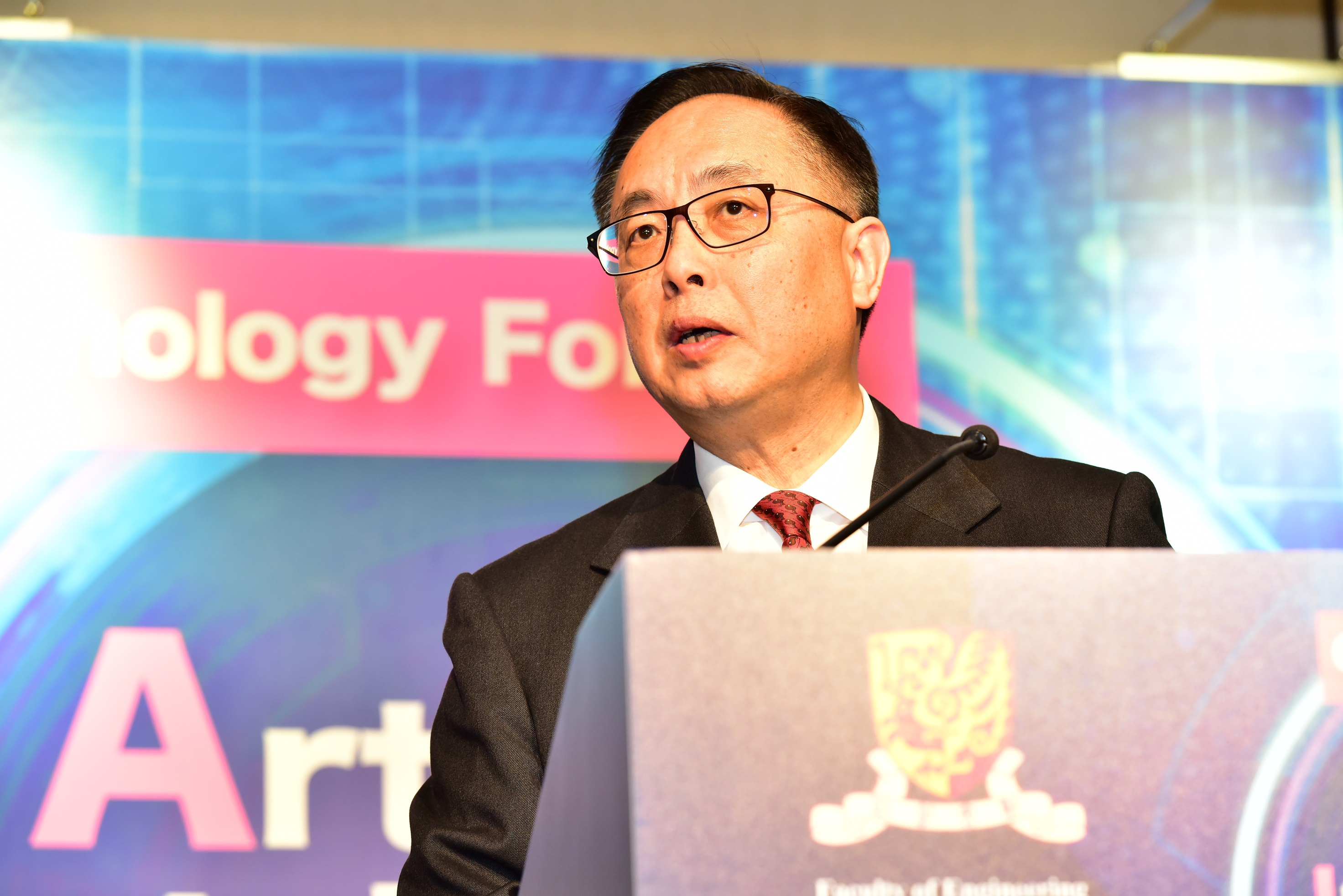 Mr. Nicholas W. YANG, Secretary for Innovation and Technology, the HKSAR Government