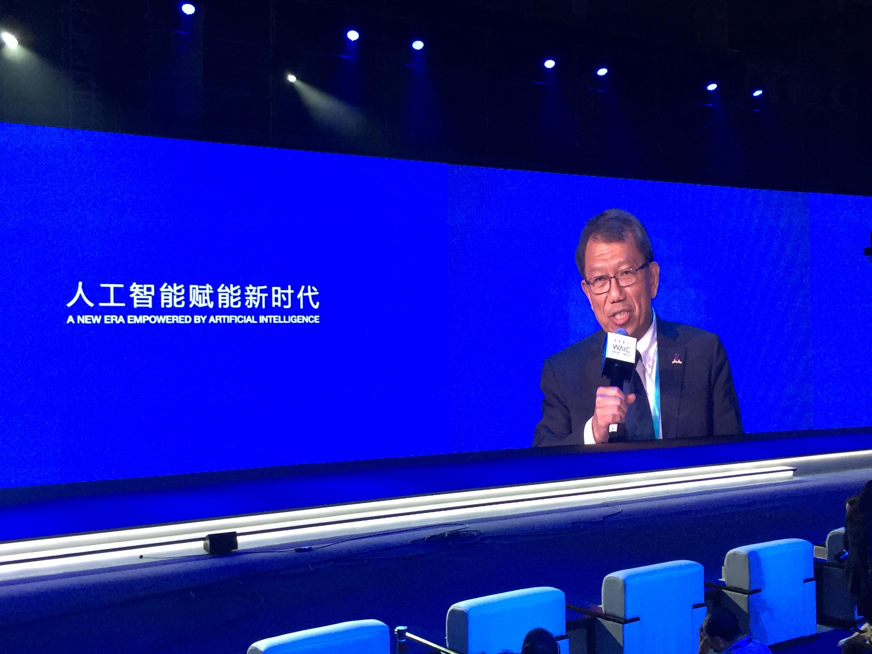 段崇智校長在大會主題論壇發表演說。