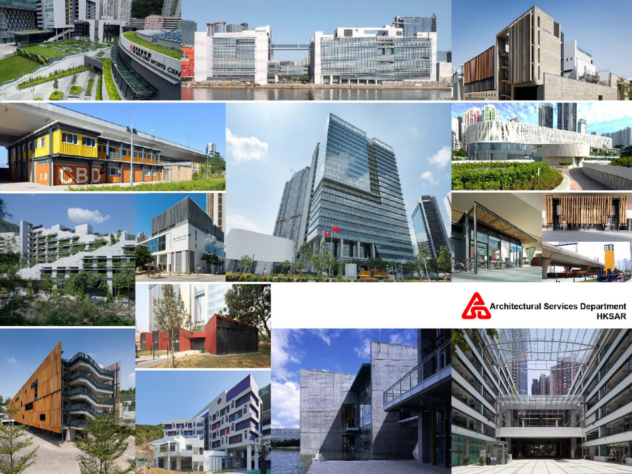 Projects by Architectural Services Department, HKSAR