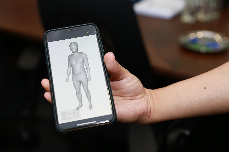 为保障用户之私隐,照片经系统处理转化为三维人体模形时,不会呈现用户之面貌。