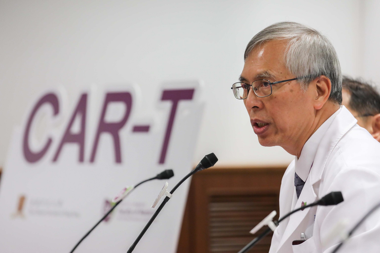 中大医学院儿科学系教授李志光教授指出,中大正积极筹备为罹患白血病和淋巴癌的儿童及成年患者,进行CAR-T细胞治疗临床研究,冀患者日后于本地亦能够接受这种新一代治疗。