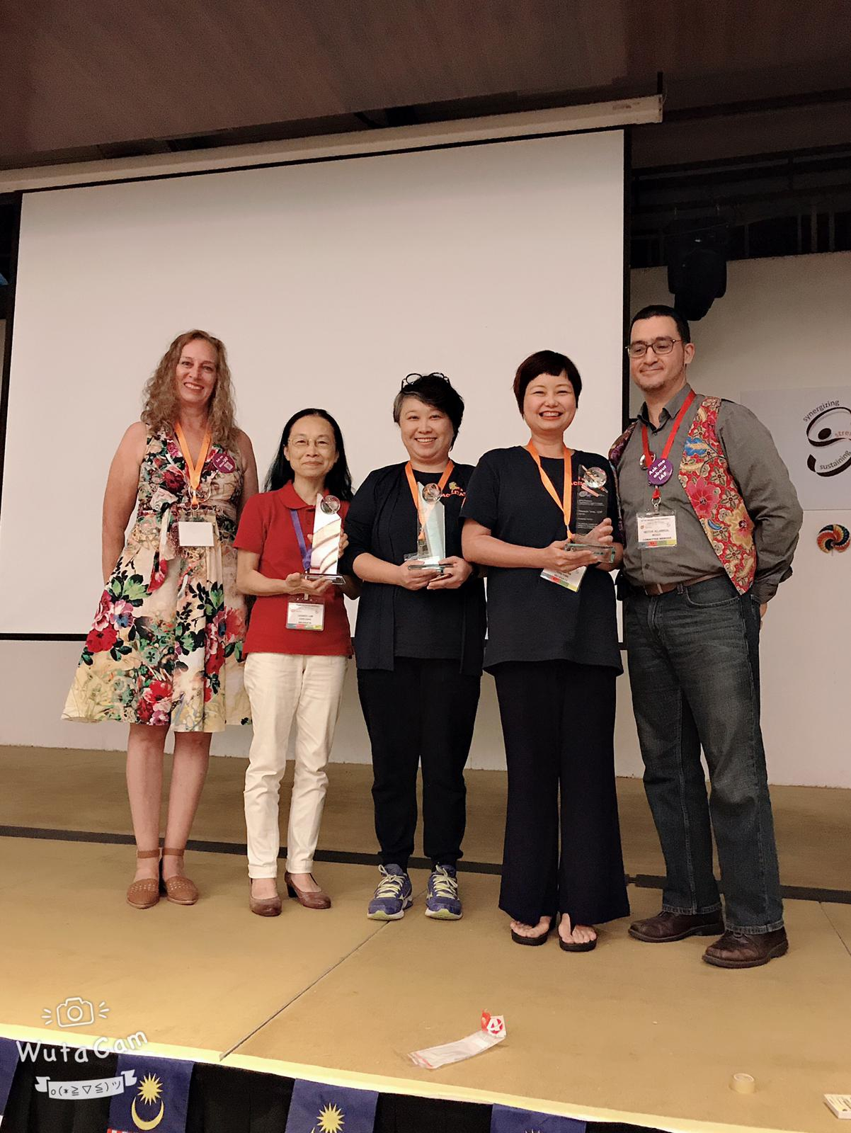 CUHK Shaw College is the first Hong Kong organisation to receive Platinum Facilitation Impact Award.