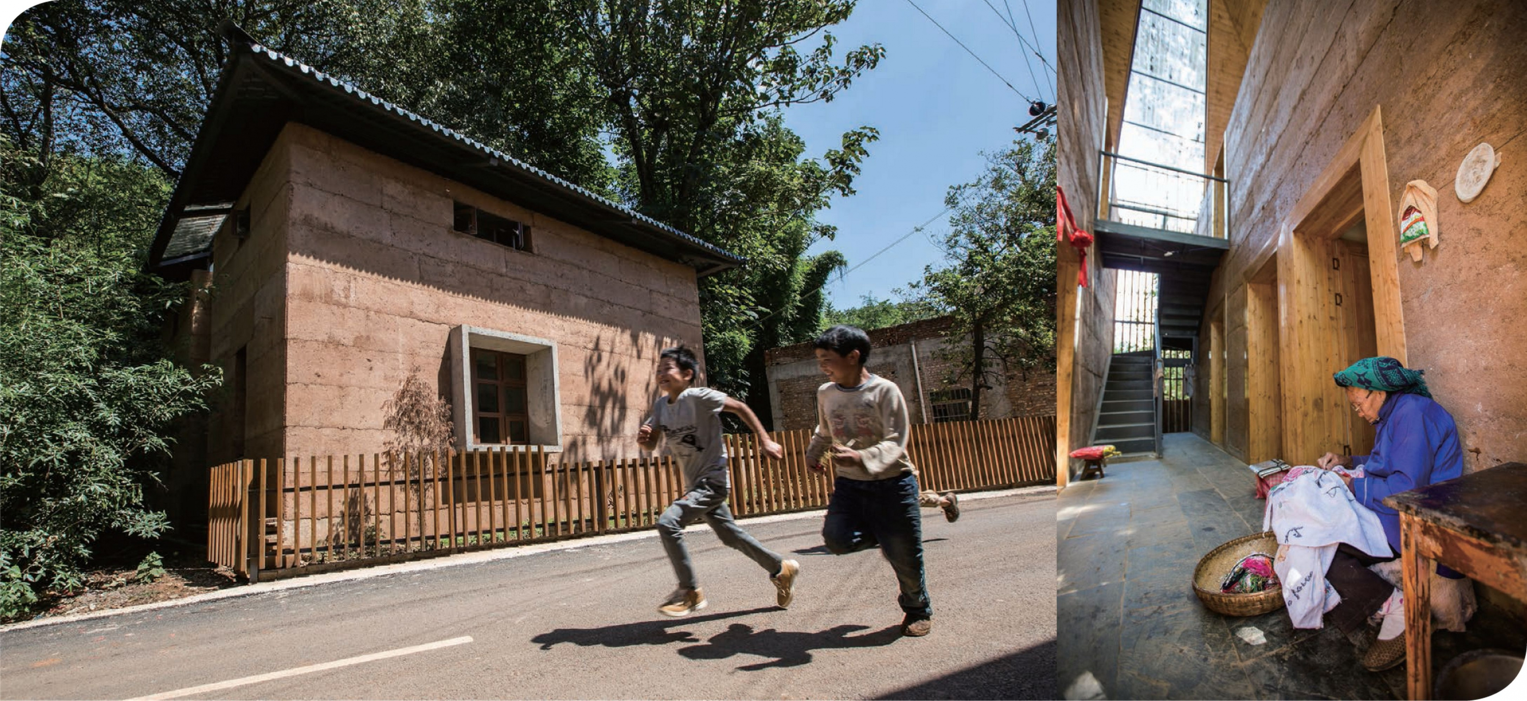 The post-earthquake reconstruction demonstration project of Guangming Village