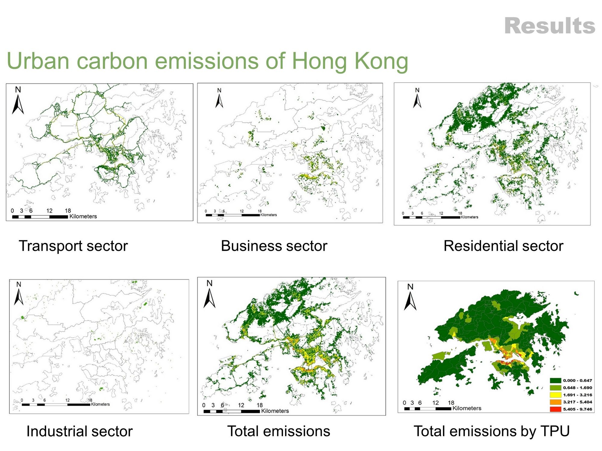 CAI Meng, a PhD student of the School of Architecture develops a hybrid method to model urban carbon emission inventory at fine resolution using open urban data.