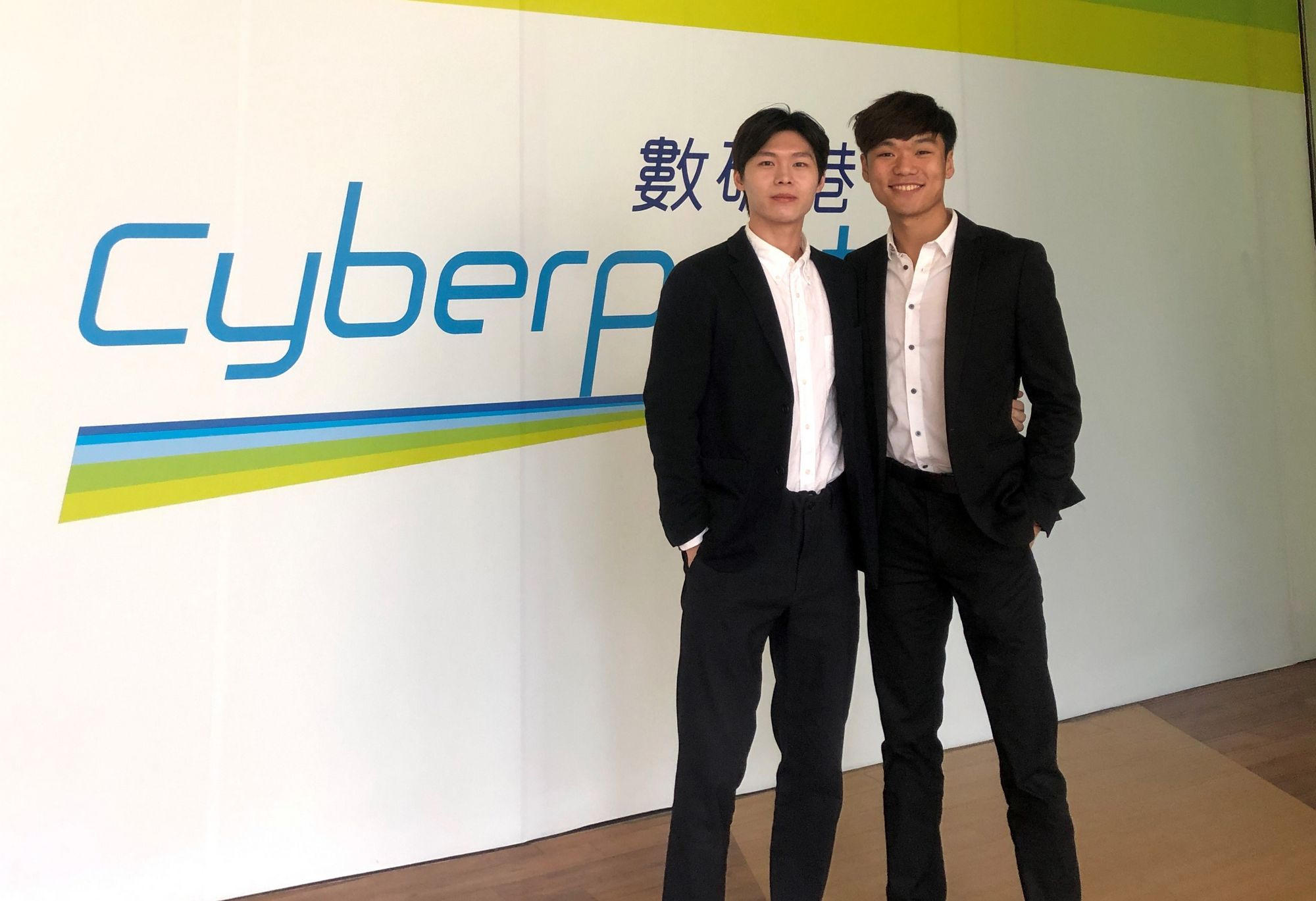 Dr. Body's posture detection and rehabilitation tracking system, developed by Rex Chun-hung MA, an iBBA student at CUHK (right) and his teammate, provides the public with comprehensive, accurate and fast posture health checks.