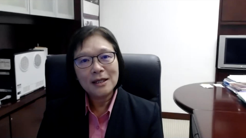 中大副校长潘伟贤教授于论坛开幕典礼上致开幕辞