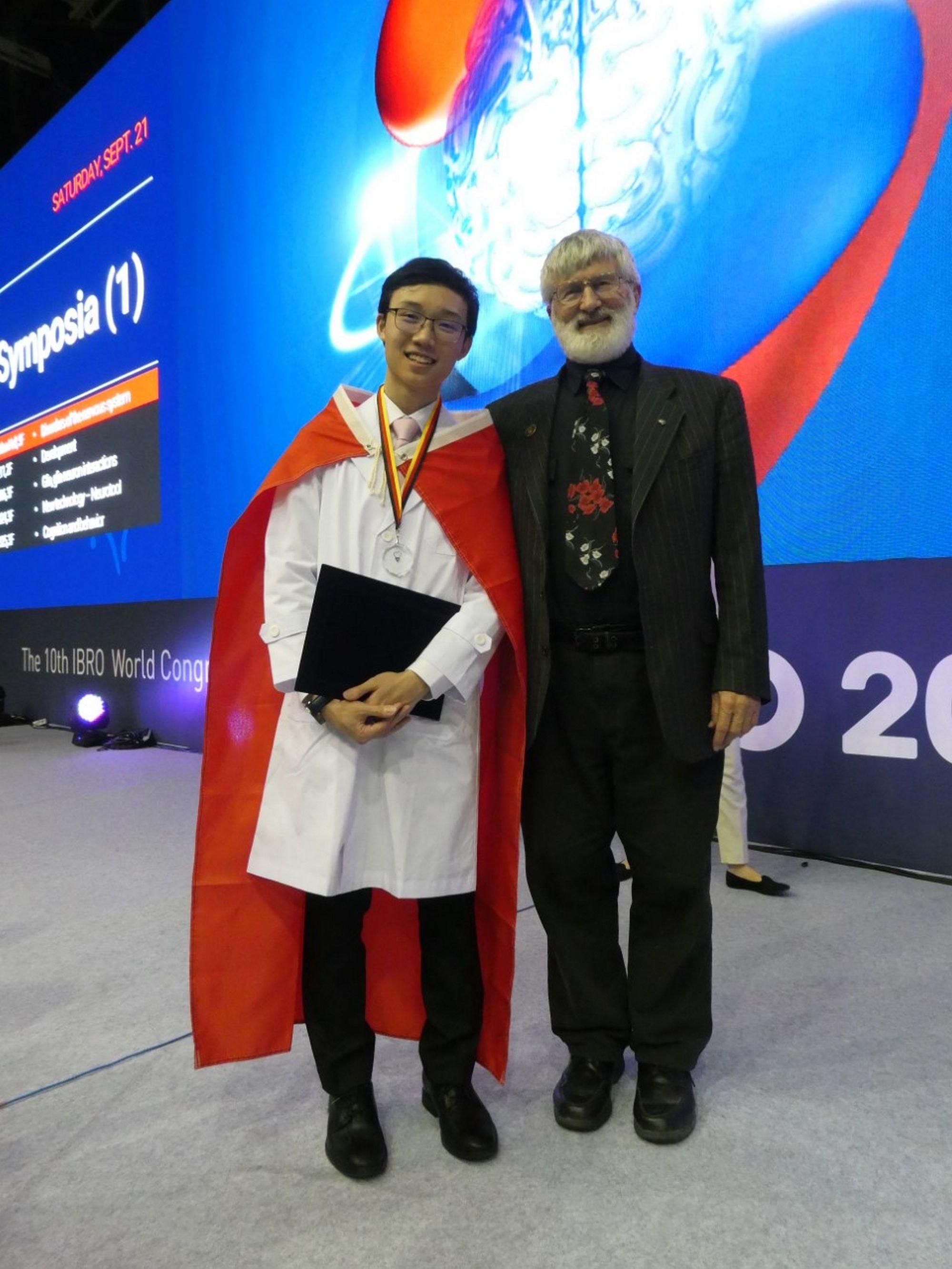 Wing Chi Ngai (left)