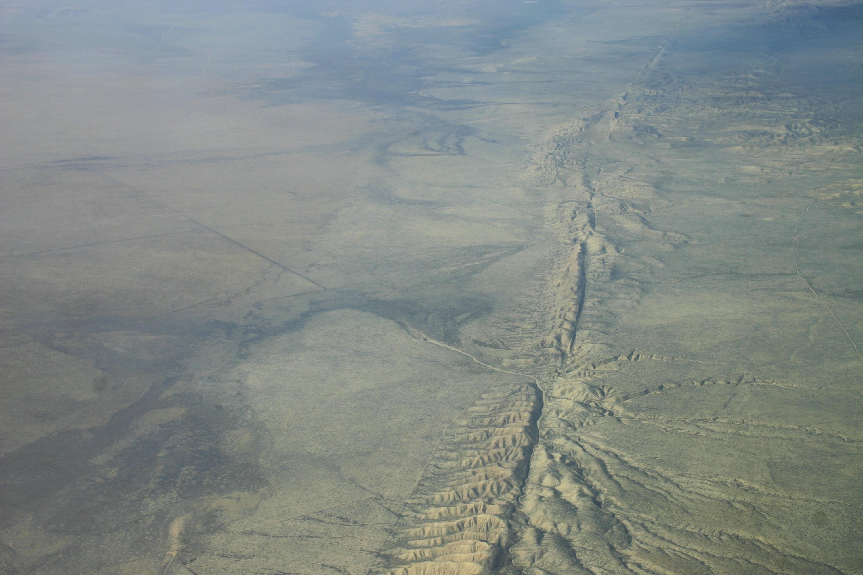 今次研究對象為美國加州聖安德烈斯的斷層。