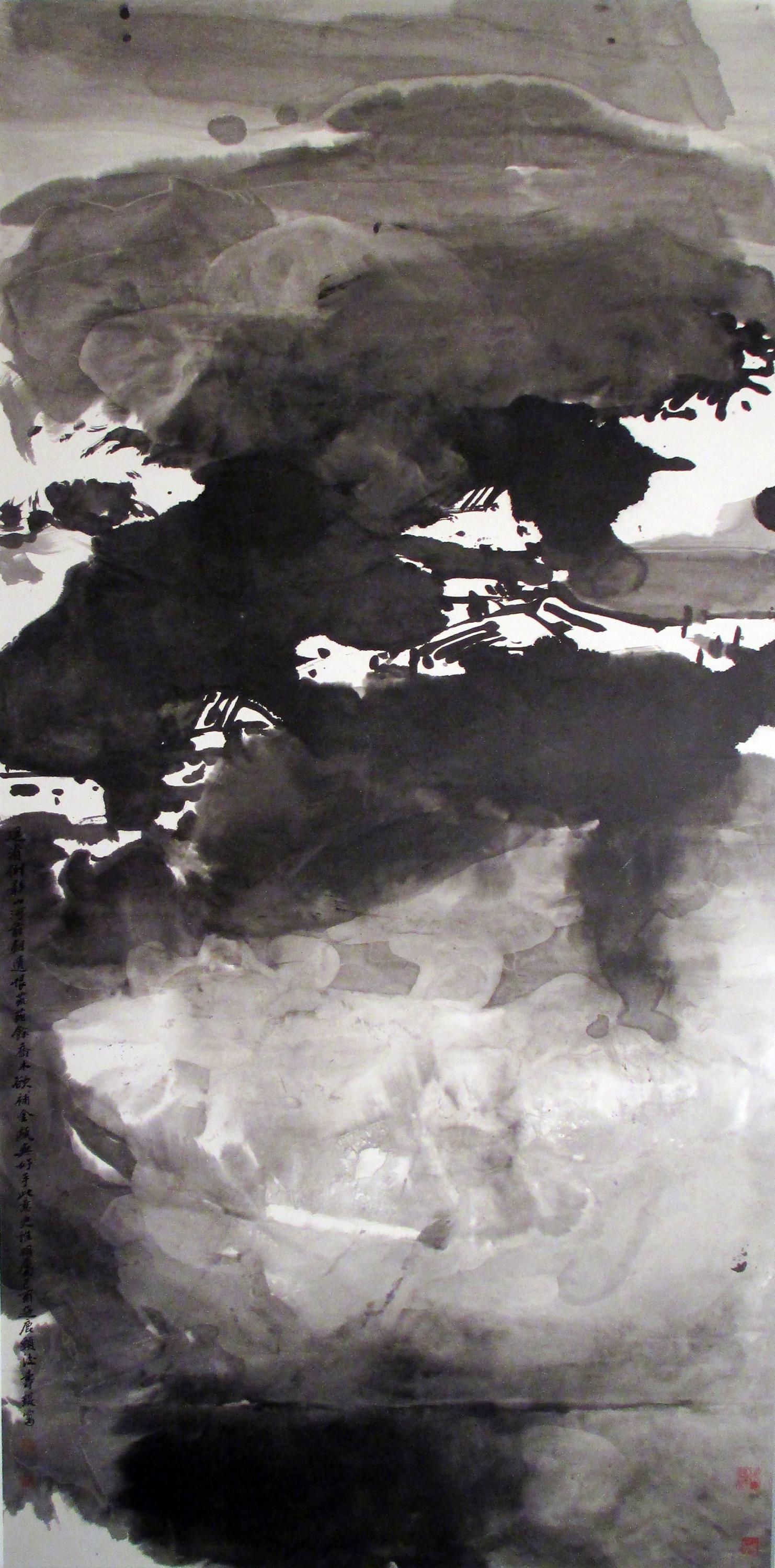 精选展品︰吕寿琨《鹿颈村》