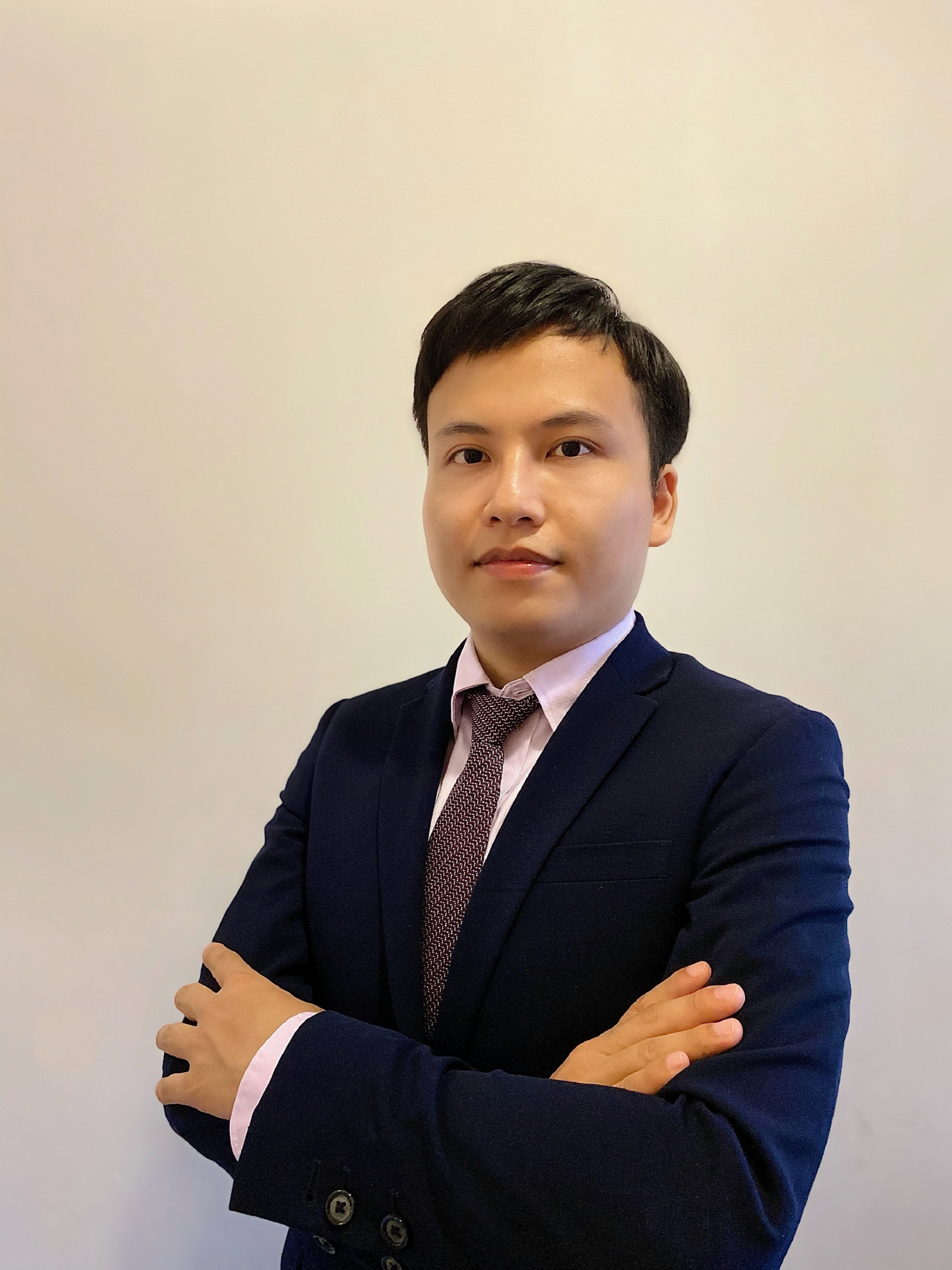 Mr. HUANG Jun Jie, first-author of the study.