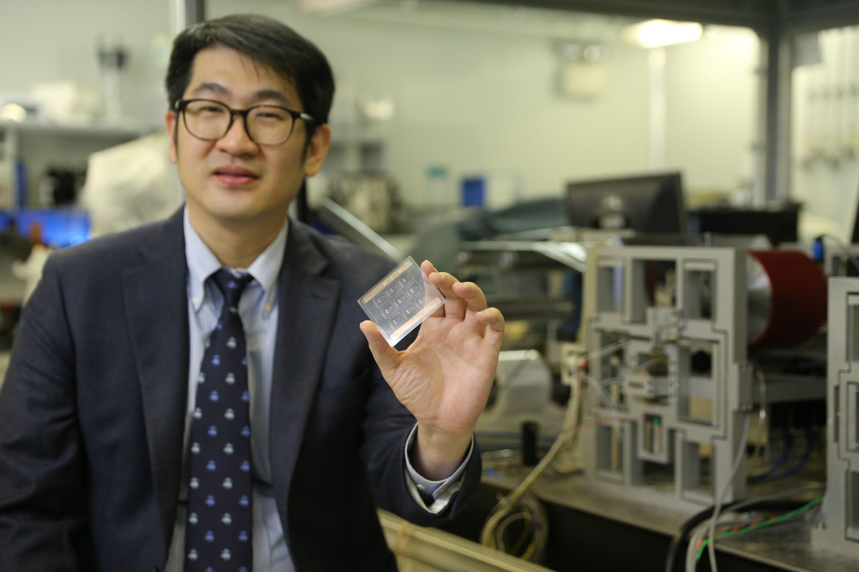 中大工程學院機械與自動化工程學系教授陳世祈教授