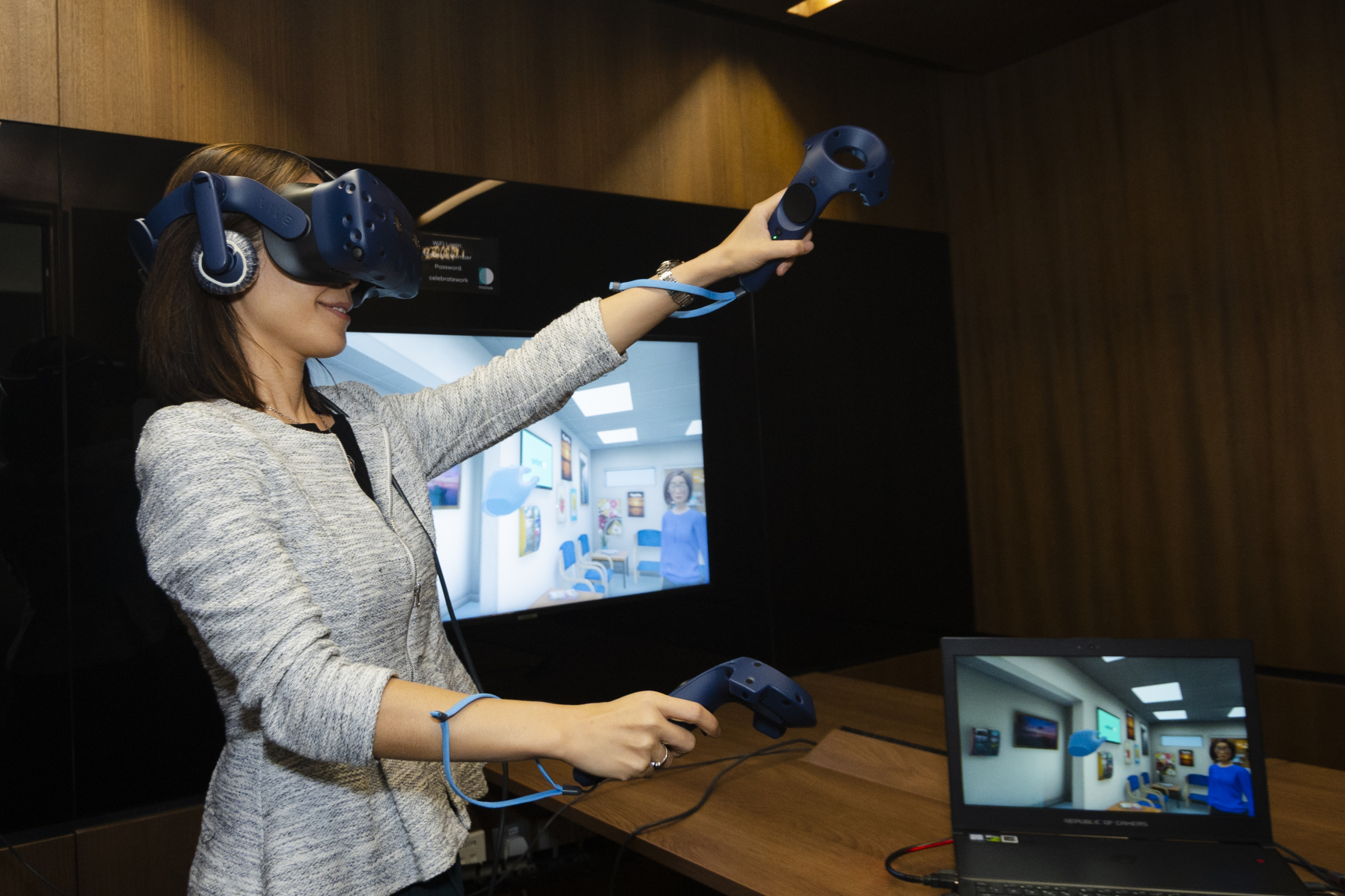 Participants will be guided by the virtual coach through a series of graded tasks in different VR environments that reflect everyday situations they may usually avoid.
