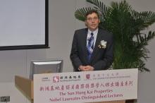 2001年诺贝尔物理学奖得主卡尔.威曼教授主持讲座