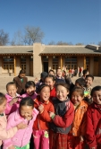 Students are jubilant with their new school