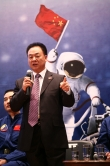 Deputy commander-in-chief of China's manned space engineering programme and leader of the delegation, Mr. Zhang Jianqi